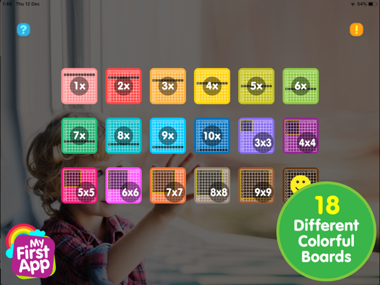 Multiplication table - AR game screenshot 7