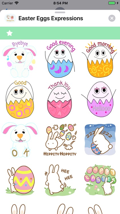 Easter Eggs Expressions