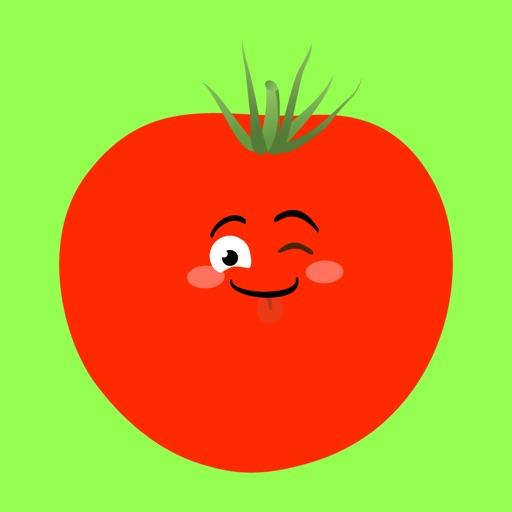 tomato sticker funny 2020