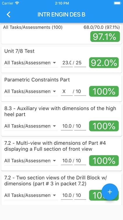 Grade calculator for MyMCPS