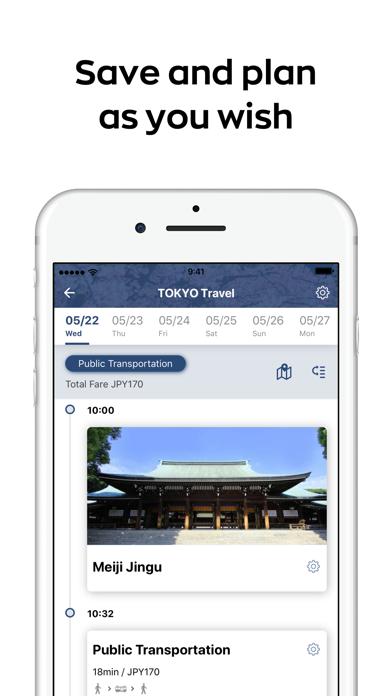 Japan Travel - transit, taxi ScreenShot3