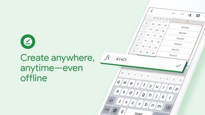 Screenshot for Google Sheets in Singapore App Store