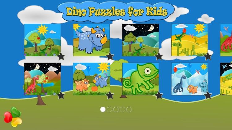 Dinosaur Games Puzzle for Kids screenshot-4