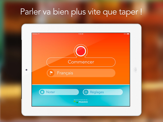 Screenshot Reconnaisseur de Parole HD