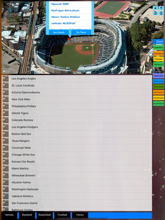 3D Sports Stadiums Lite screenshot 17