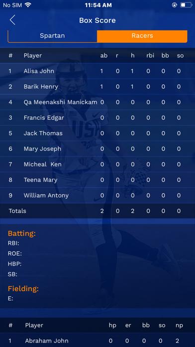 AthletesGoLive Screenshot