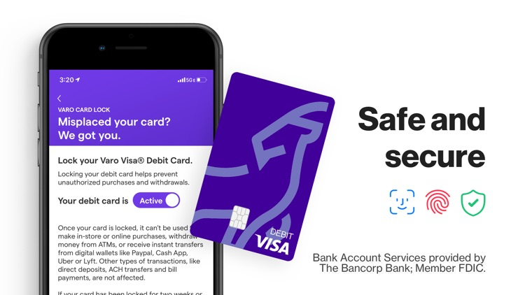 Varo: No Fee Mobile Banking screenshot-4