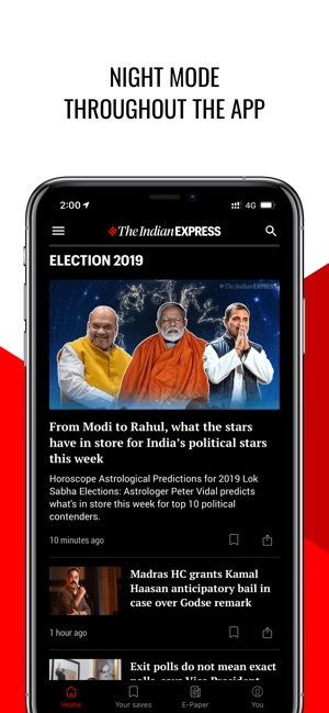 Indian Express News + ePaper on the App Store