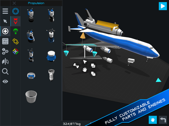 SimpleRockets 2 screenshot 12