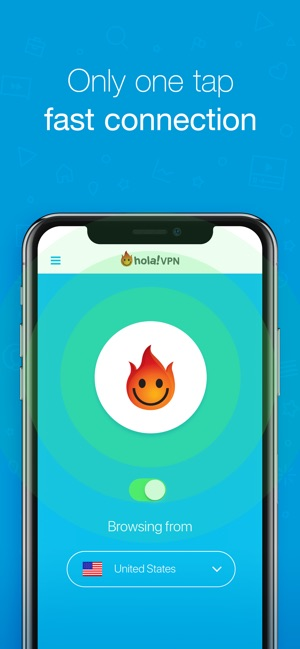 Hola Privacy VPN App on the App Store