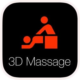 3D Massage: Remote Vibrations