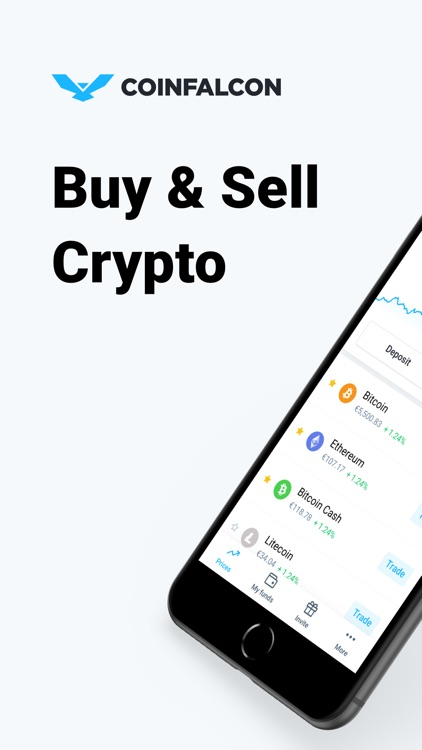 CoinFalcon – Buy Bitcoin screenshot-0