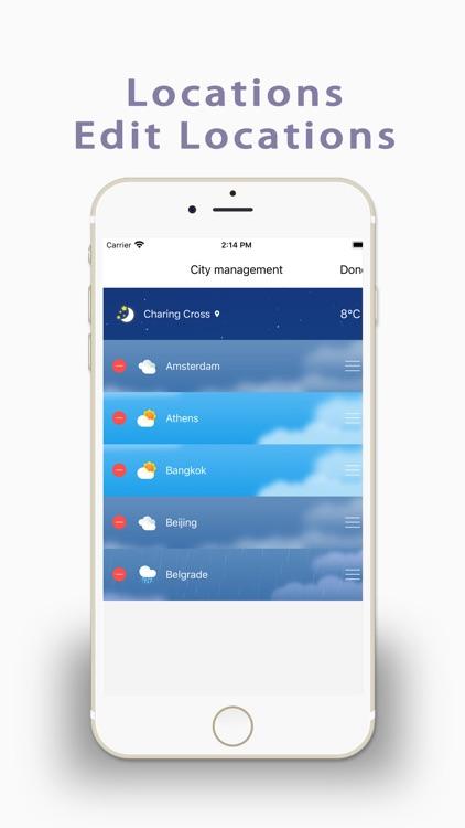Live Weather-Radar&Forecast screenshot-4