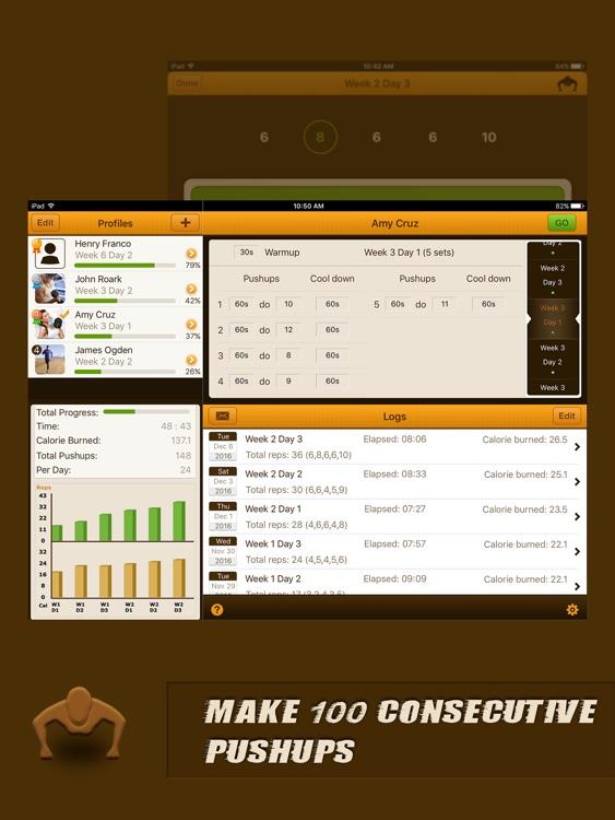 Pushups Coach Pro for iPad