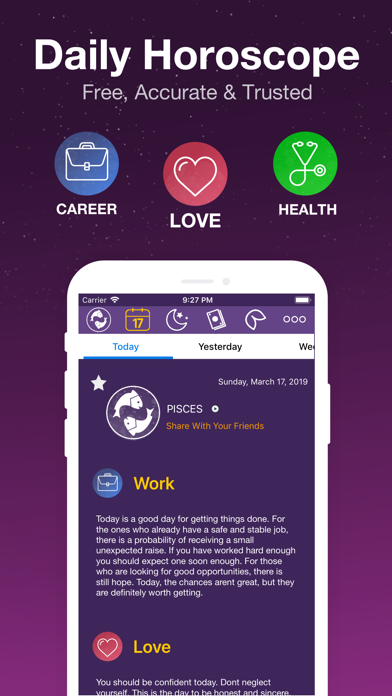 Daily Horoscope - Astrology ! Screenshot