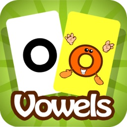 Meet the Vowels Flashcards