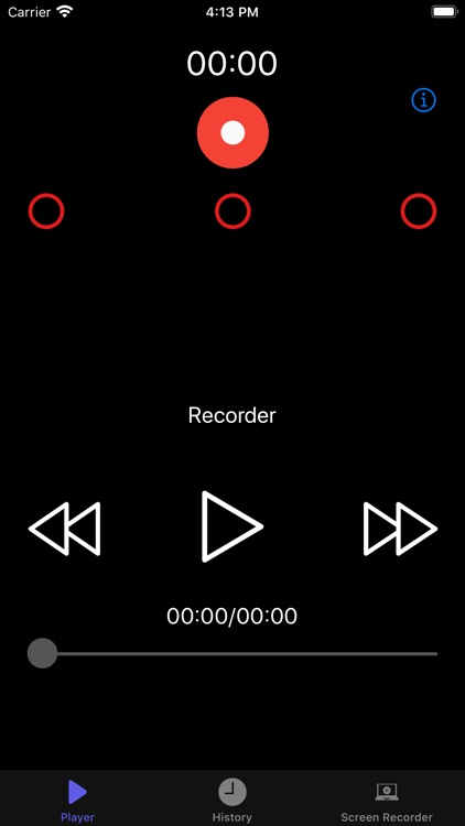 MP3 Voice Recorder ,MP3 player screenshot-0
