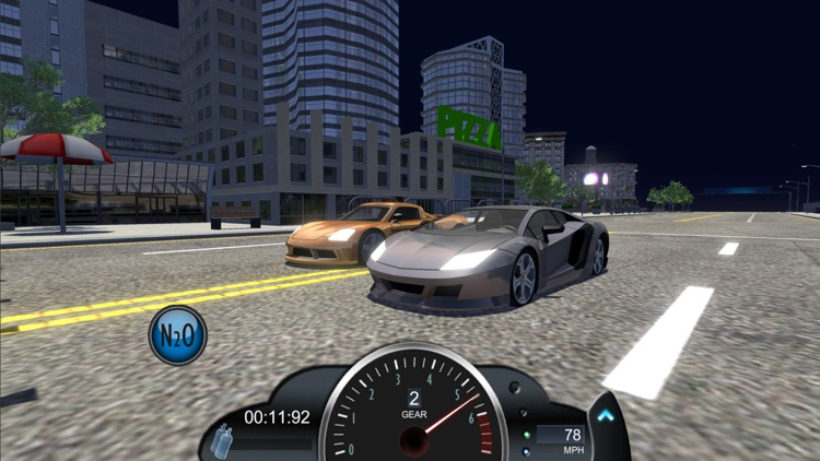 Drag racing game Nitro Rivals