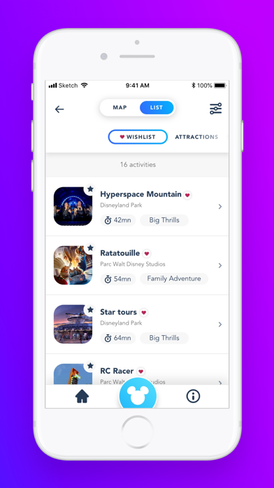 download Disneyland® Paris apps 1