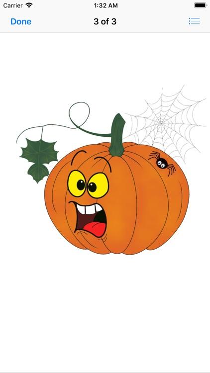 Pumpkin time stickers screenshot-4