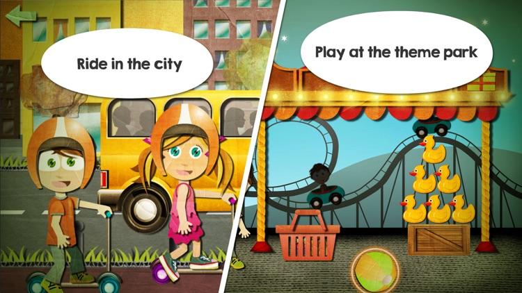 Beck and Bo - Toddler Puzzles screenshot-3