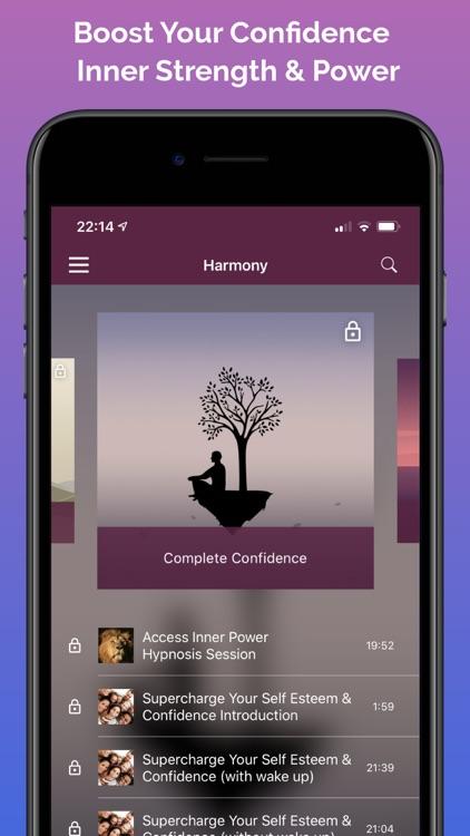 Harmony Hypnosis Meditation screenshot-3