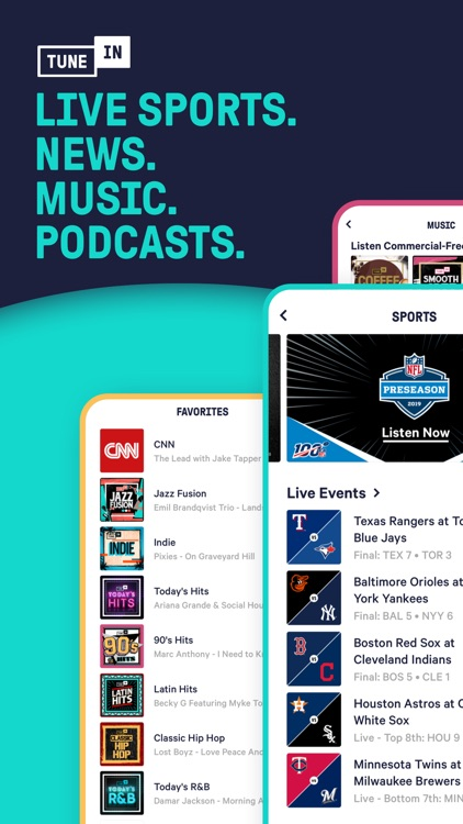 TuneIn - NFL Radio & Podcasts screenshot-6