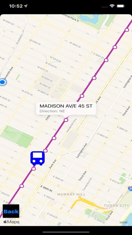 Bus NYC in 3D City View Lite screenshot-8