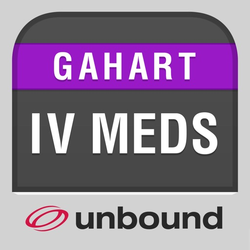 IV Medications Gahart