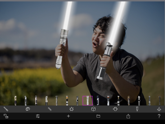 Lightsaber Camera Deluxe screenshot 12