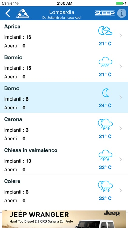 Neve e Sci - NeveItalia screenshot-2