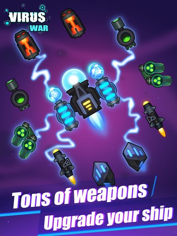 Virus War- Space Shooting Game screenshot 7