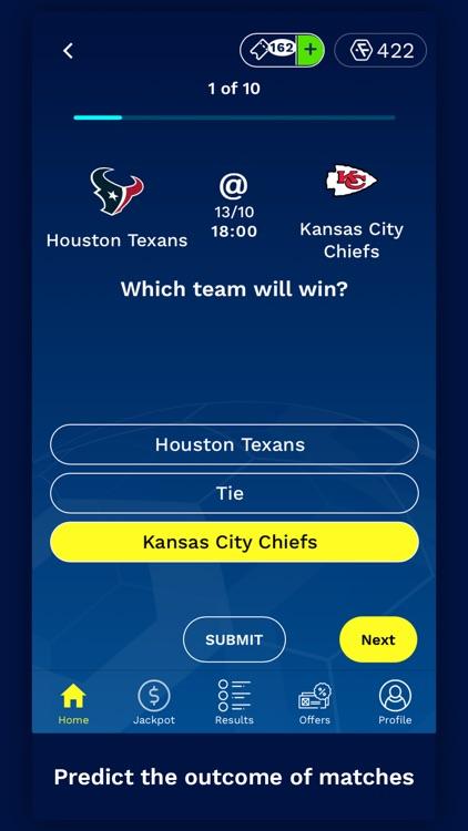 FanQuest: Sports Predictions