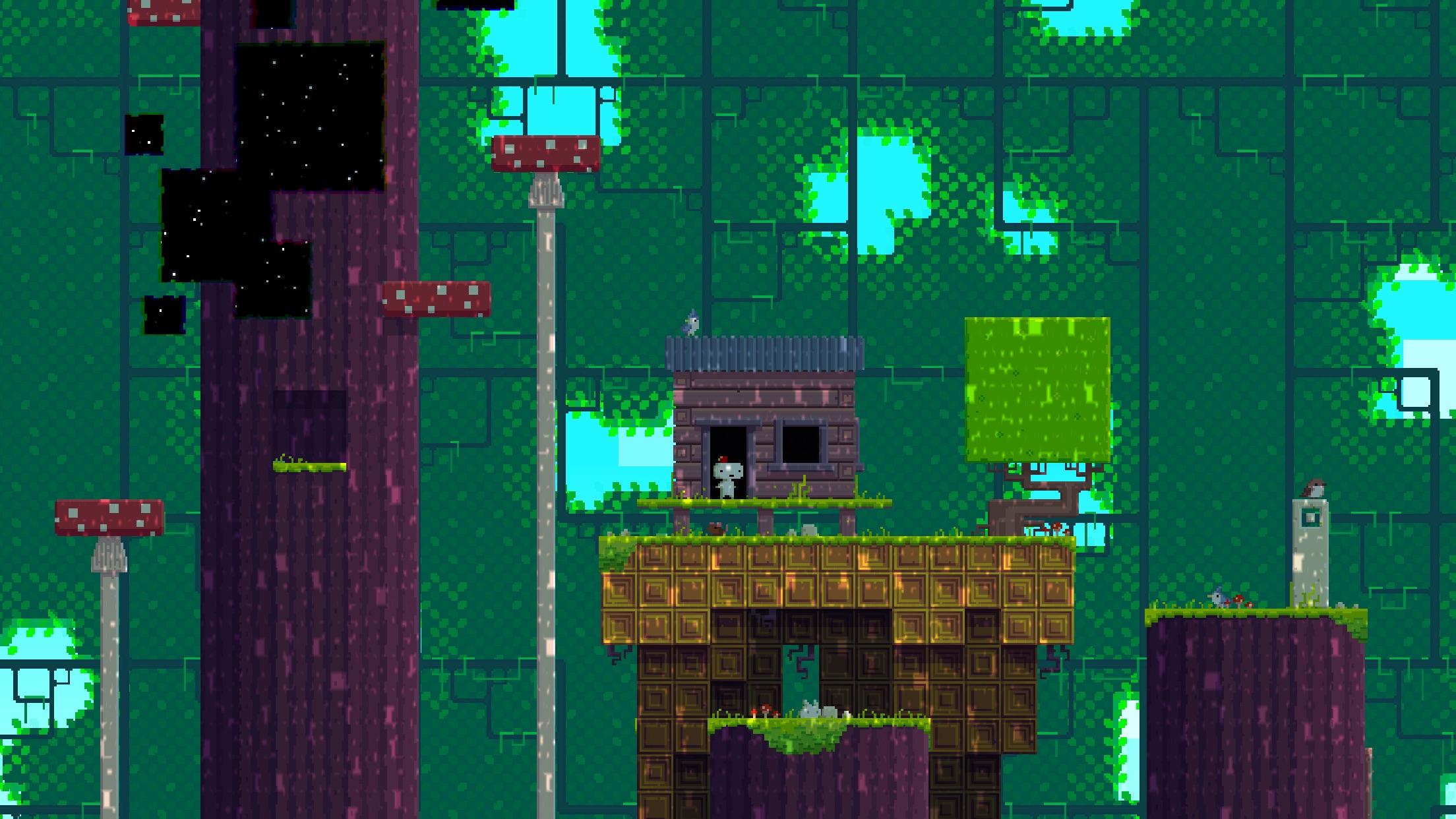 Screenshot do app FEZ Pocket Edition