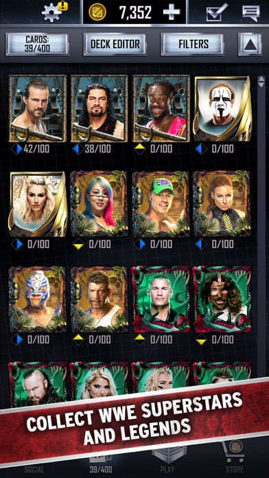 WWE SuperCard for windows pc