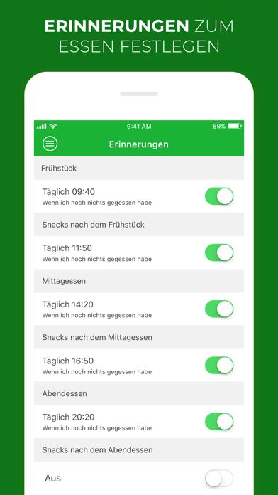 messages.download Kalorien, Fett & Eiweißzähler software