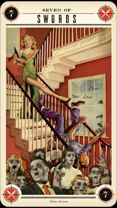 Zombie Tarot screenshot two