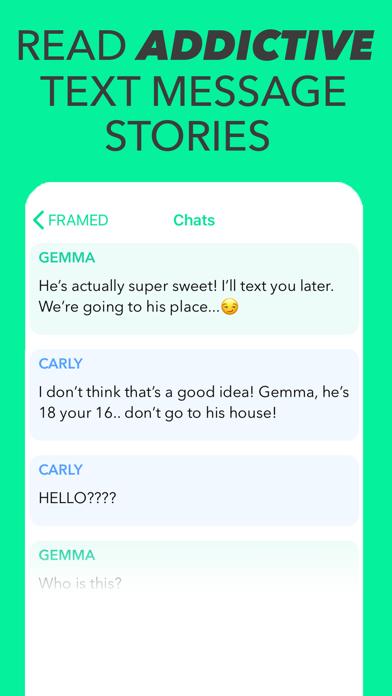 SHADOW - Chat Texting Stories screenshot 1