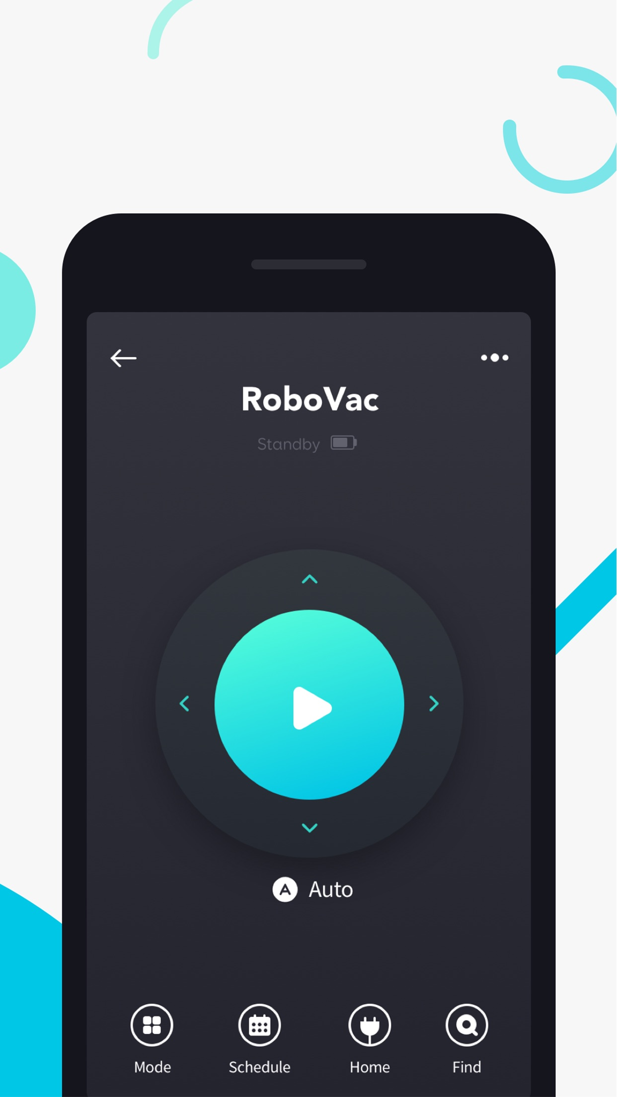 Screenshot do app EufyHome