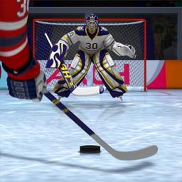 Ice Hockey shoot