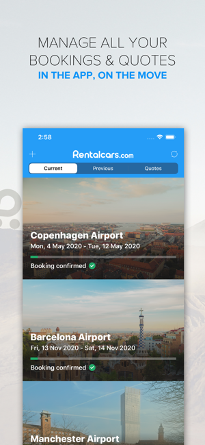 Rentalcars Car hire App on the App Store