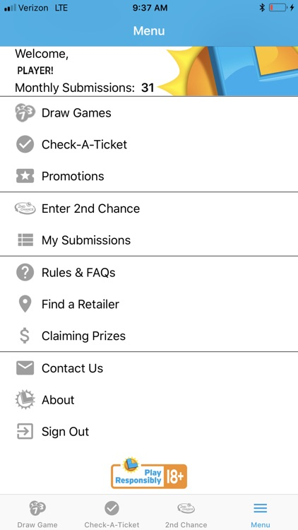 CA Lottery Official App