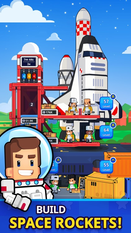 Rocket Star: Idle Tycoon Game screenshot-0