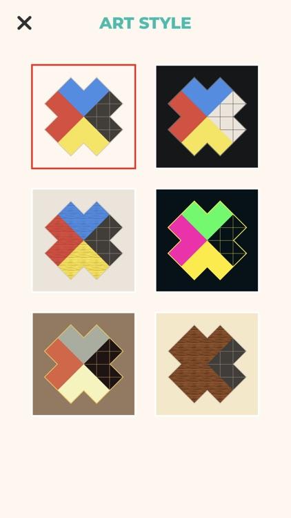 ZEN Block™-tangram puzzle game screenshot-4