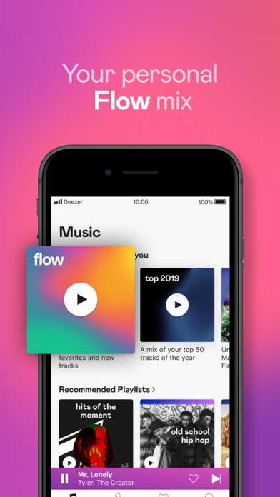 Deezer: Play & Listen to Music screenshot two
