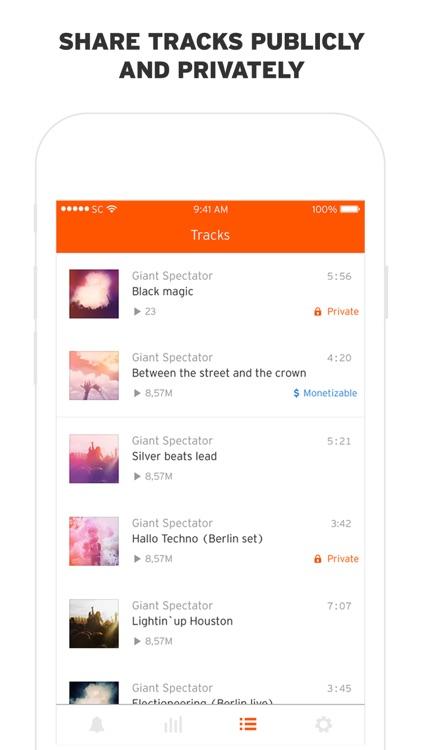 SoundCloud Pulse screenshot-4