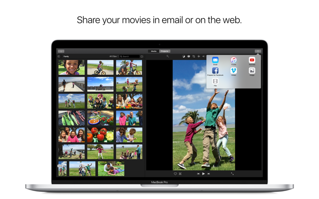iMovie on the Mac App Store