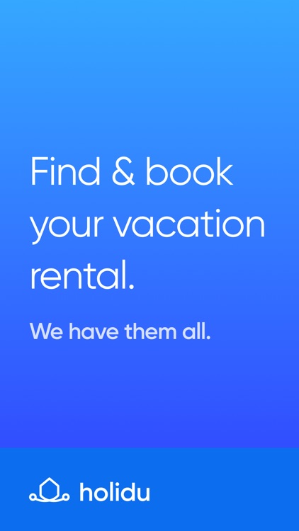 Holidu: Vacation Rentals
