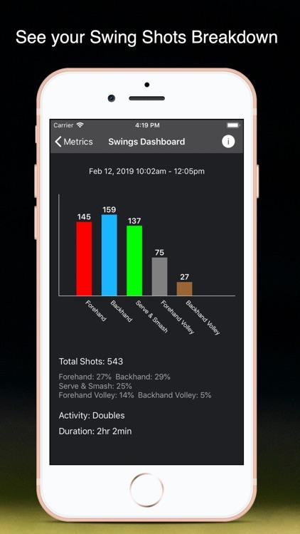 TennisKeeper: Swings & Scores screenshot-3