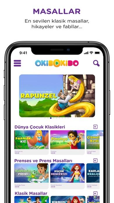 OkiDoKido: Çocuk Çizgi Film TV screenshot three